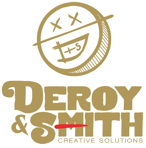 Deroy and Smith Logo Gold
